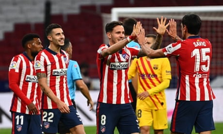 Diego Simeone's new and improved Atlético Madrid on title trail again | Sid Lowe
