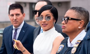 Cardi B is due back in court next month.