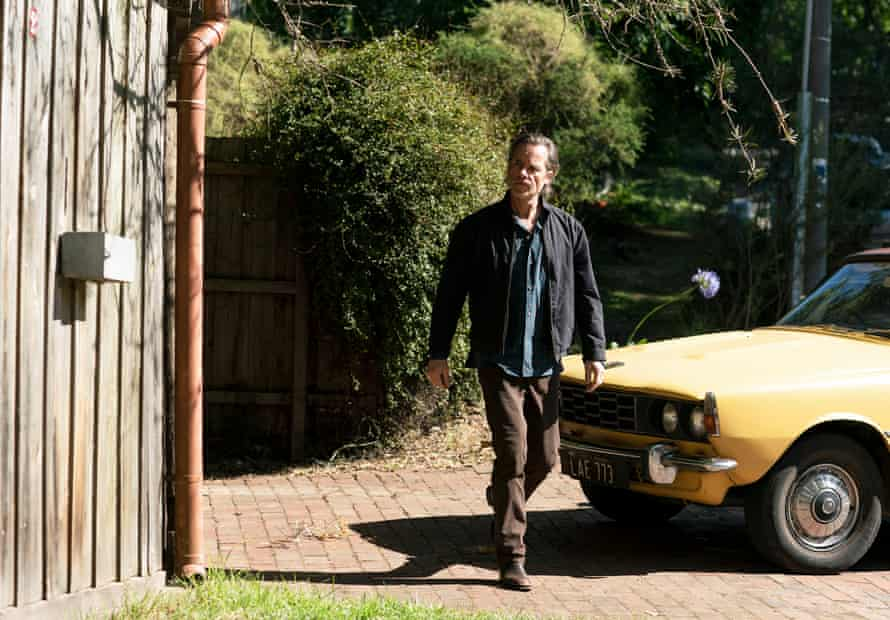 Jack (Guy Pearce) in a scene from the final season of the long-running ABC detective series, Jack Irish.