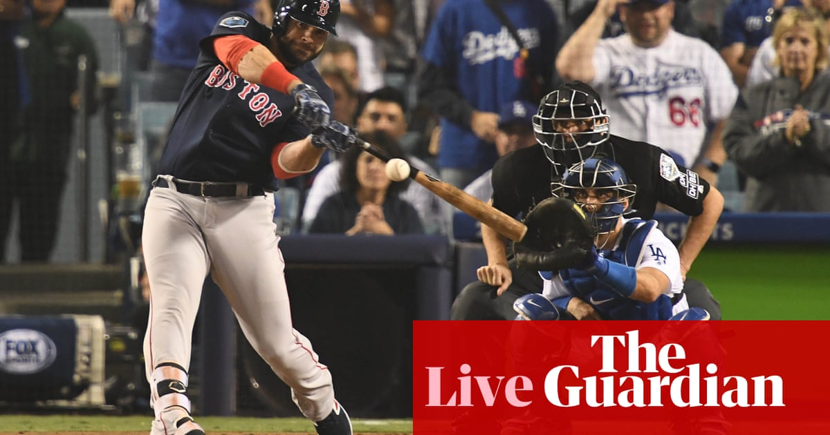 e58900cb8d338 World Series 2018 Game 4  Boston Red Sox 9-6 Los Angeles Dodgers – as it  happened