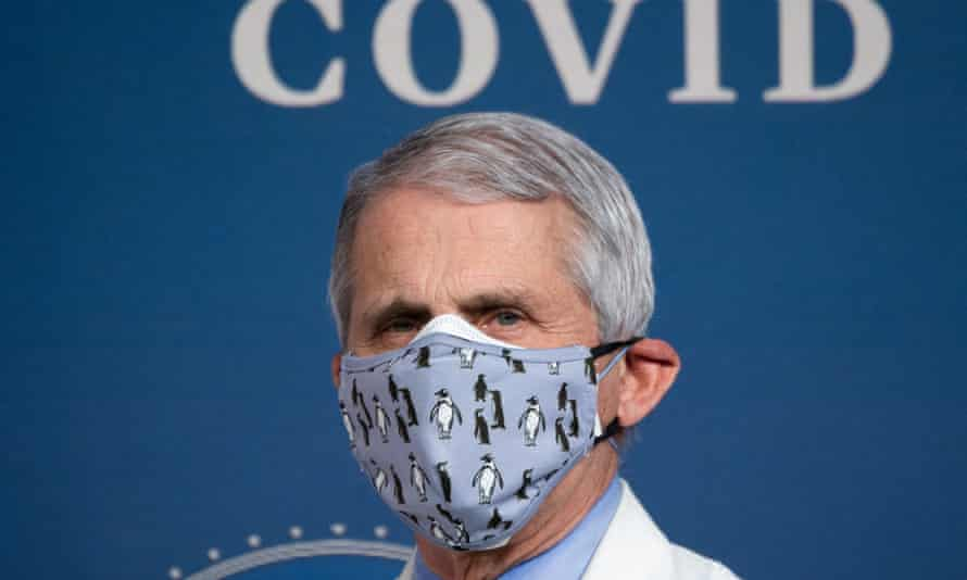 Dr Anthony Fauci, the White House's chief medical advise: 'We've had practically a non-existent flu season this year.'