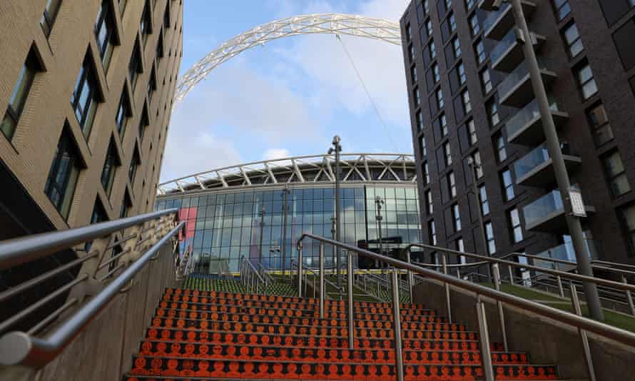 Oliver Dowden hopes Wembley will be able to host more than 10,000 fans for the latter stages of the European Championship.