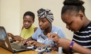 AkiraChix in Nairobi runs 'bootcamp' programmes for women who want to learn to code