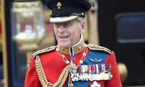 Prince Philip, a descendant of the Romanovs