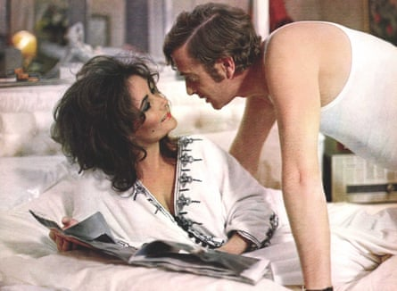 Elizabeth Taylor and Michael Caine in Zee And Co, the 1972 film based on O'Brien's novel of the same name.