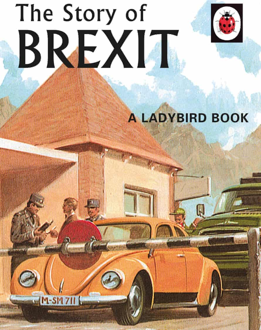 Front cover of Ladybird's The Story of Brexit book