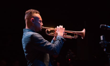 Jay Phelps review – vivacious jazz trumpeter hops from hard bop to Outkast