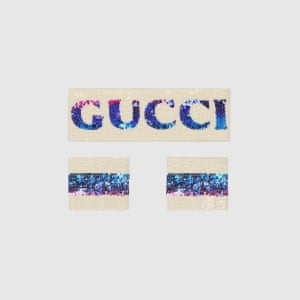 Headband and wrist cuffs, £580, by Gucci