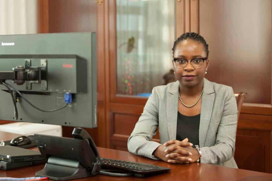 Angola's finance minister, Vera Daves de Sousa