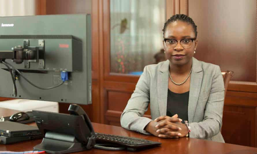 Vera Daves de Sousa, 34, is finance minister in Angola, where politics was previously dominated by elderly men, many of them veterans of the long civil war