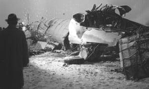 The airliner that crashed in Munich on February 6, 1958.