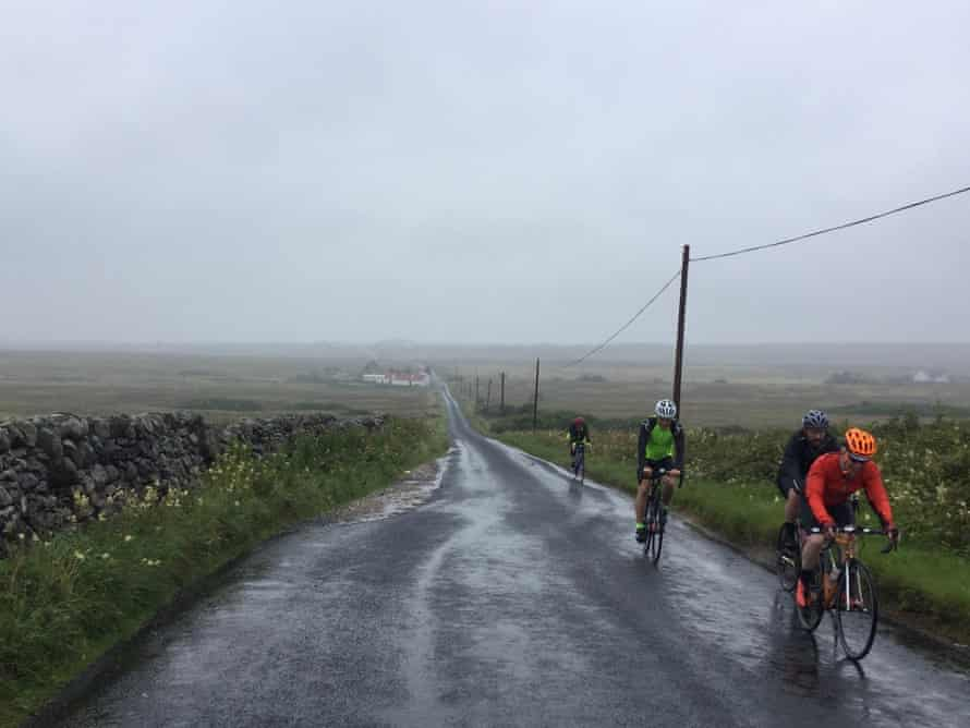 The Ride of the Falling Rain on the Hebridean island of Islay, 2017