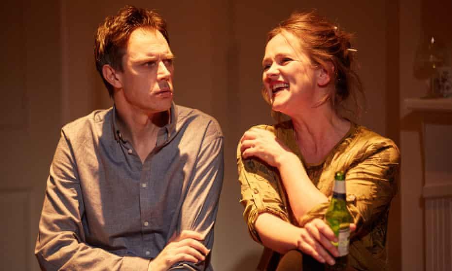 Ben Porter and Poppy Miller in A Better Woman.