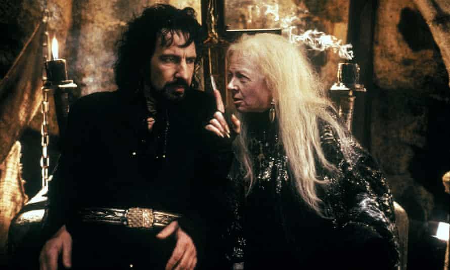 Alan Rickman and Geraldine McEwan