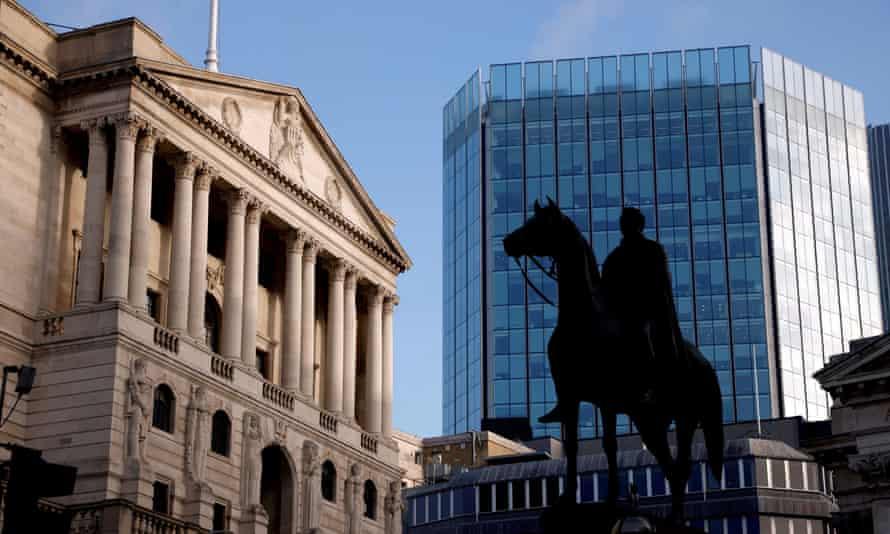 The Bank of England, London, November 2020