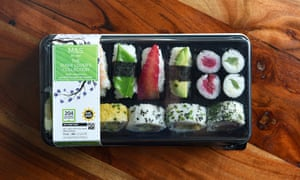Marks and Spencer's The Sushi Lover's Collection.