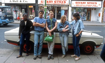 'The project interested people open to thinking about things' … Hackney residents in the 80s.