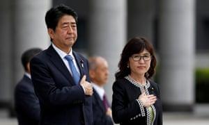 Shinzo Abe and Tomomi Inada