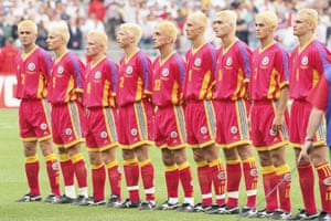 Romania at the World Cup in 1998.