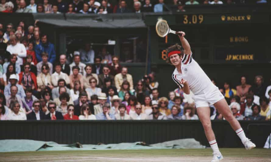 John McEnroe v Bjorn Borg, Wimbledon 1980