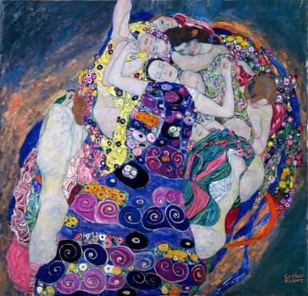 The Maiden, by Gustav Klimt