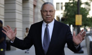 Colin Powell has confirmed the exchanges were his but declined to comment any further.