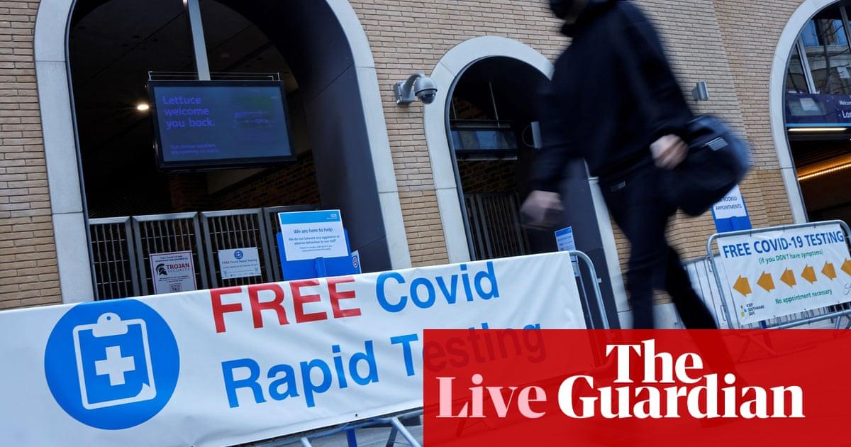 冠状病毒实时新闻: daily testing for Covid contacts could replace self-isolation in England
