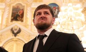 Head of the Chechen Republic, Ramzan Kadyrov, in Moscow, 2012.