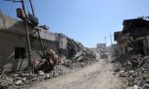 Mosul air strike aftermath