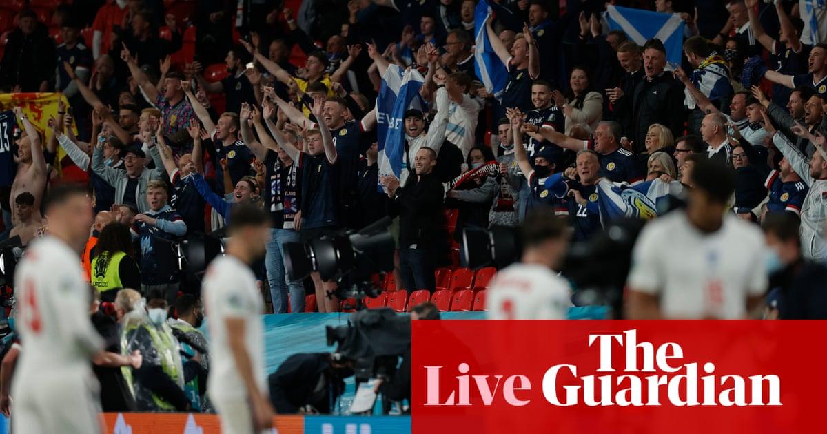 Euro 2020: England v Scotland reaction and Portugal v Germany buildup – live!