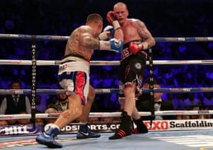 Martin Murray goes on the offensive.