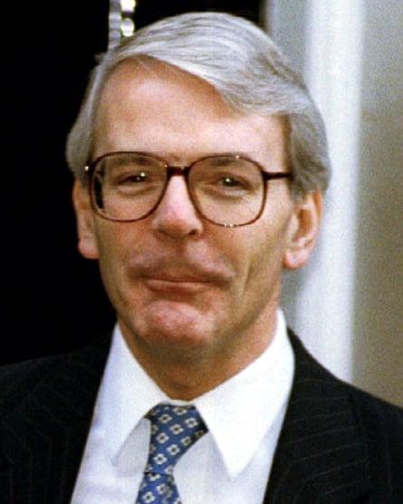 John Major in 1993.