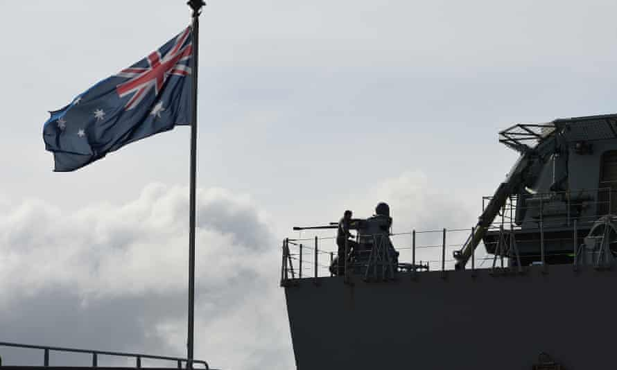 BAE Systems is to build Australia's fleet of navy frigates.