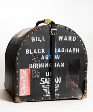 A drum case from the 1970s.