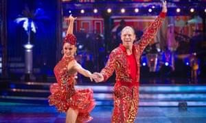 Ra ra Rasputin! … Diane Buswell and Robert Webb on Strictly Come Dancing 2021.