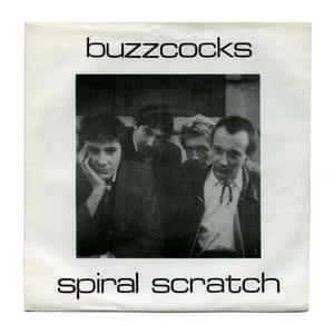 Spiral Scratch EP by Buzzcocks, first released in 1977.
