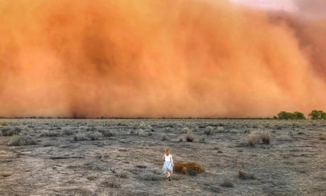 Bushfires, ash rain, dust storms and flash floods: two weeks in apocalyptic Australia