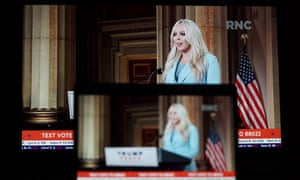Tiffany Trump speaking at the RNC
