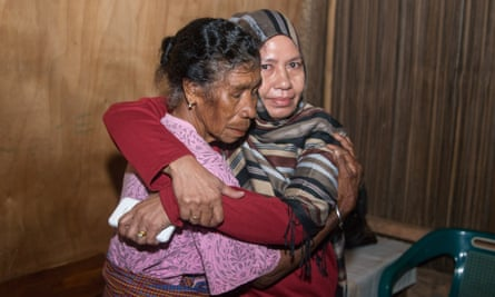 Kauka, who was abducted as a child by an Indonesian soldier meets her mother for the first time in 39 years in Timor Leste