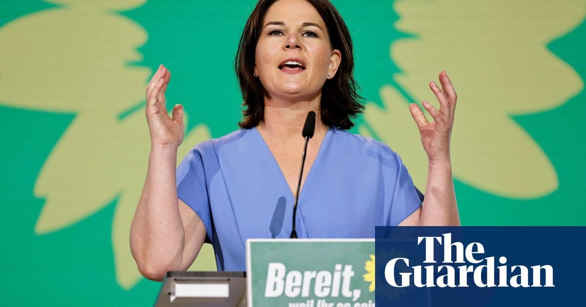 Germany's Greens back Baerbock for chancellorship despite dip in polls