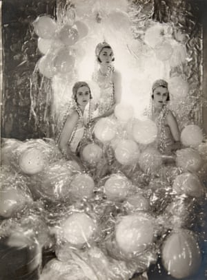 The Soapsuds Group at The Living Posters Ball, 1930