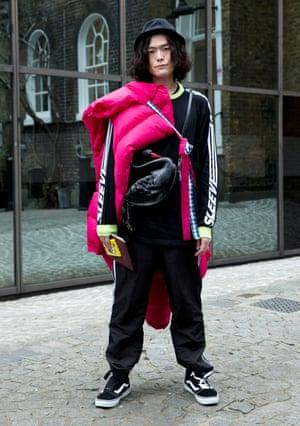 Yu Masui, fashion writer from Japan