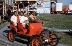 Teens at Boblo amusement park, c 1970