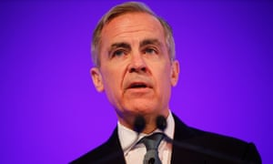 Outgoing Bank Of England governor Mark Carney