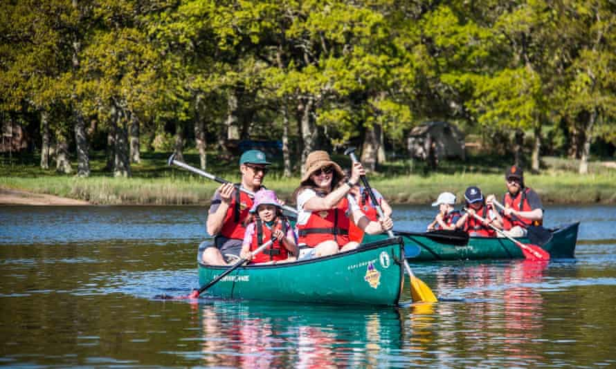 New Forest Activities canoeing on Beaulieu/Itchen