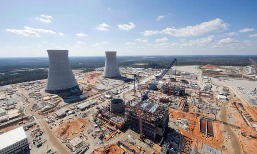 Westinghouse is constructing the Vogtle Unit 3 and 4 nuclear reactors in Georgia.