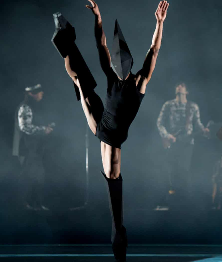 Controversial … Eric Underwood in Carbon Life, Royal Ballet, 2012.