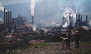 A steelworks in Wales, October 1973