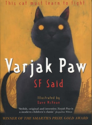 The cover of Varjak Paw