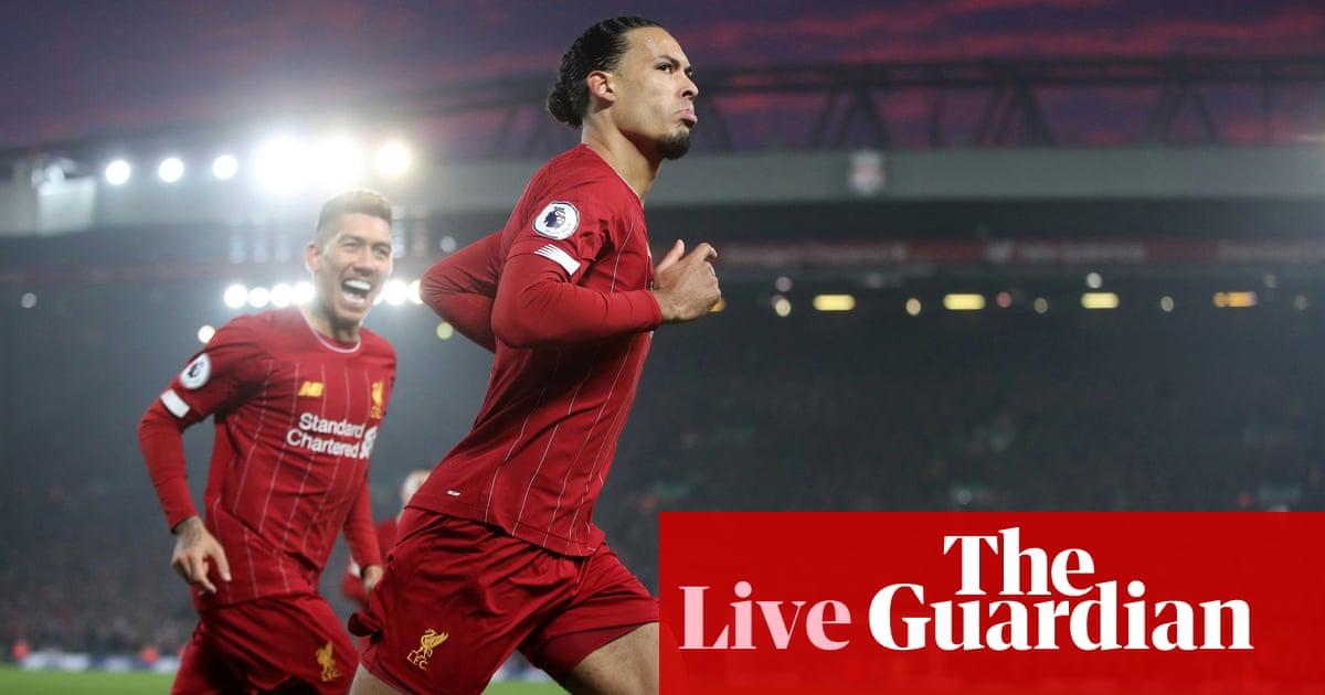 Liverpool v Manchester United: Premier League –live!